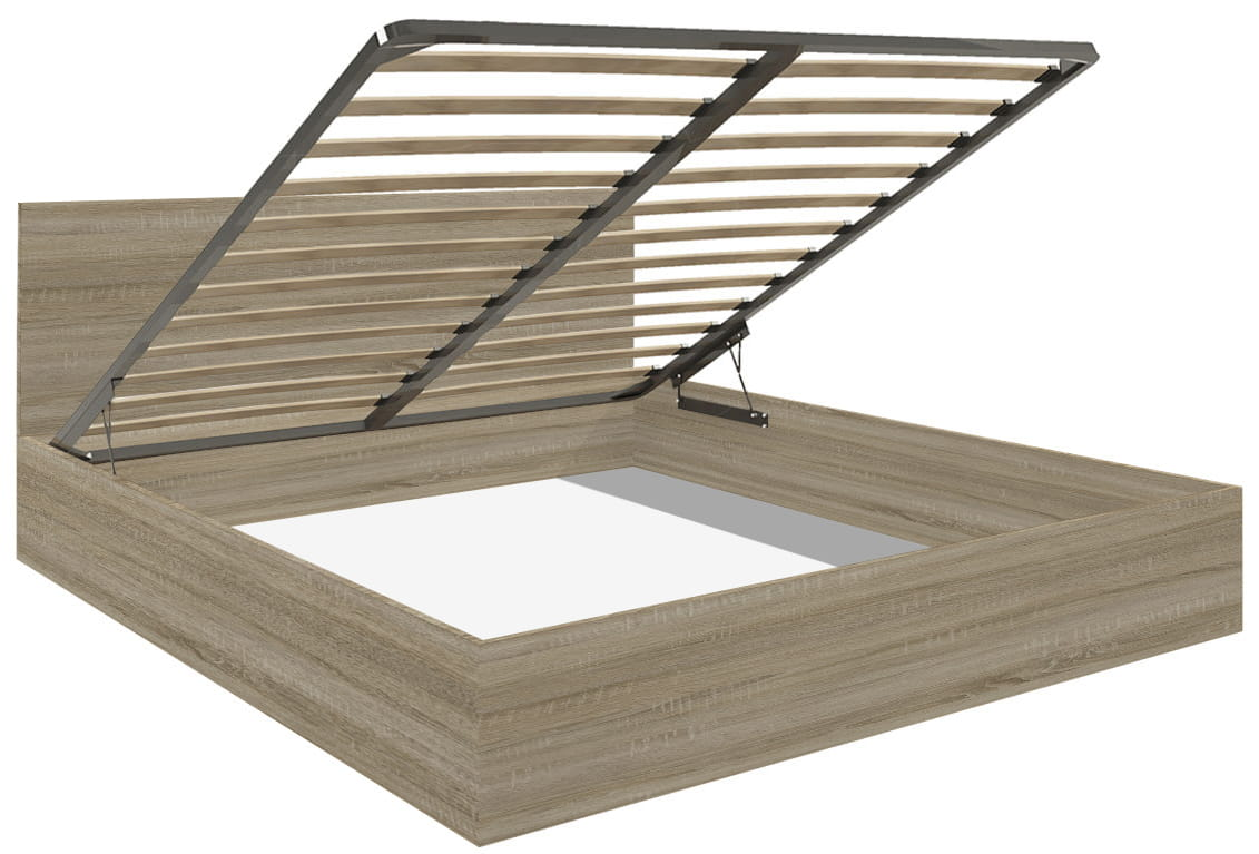 łóżko Stelaż 140x200cm Sonoma